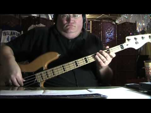 The Doobie Brothers Long Train Runnin' Bass Cover