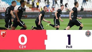FINALE KUPA SRBIJE: Crvena zvezda - Partizan 0:1 | Pregled utakmice