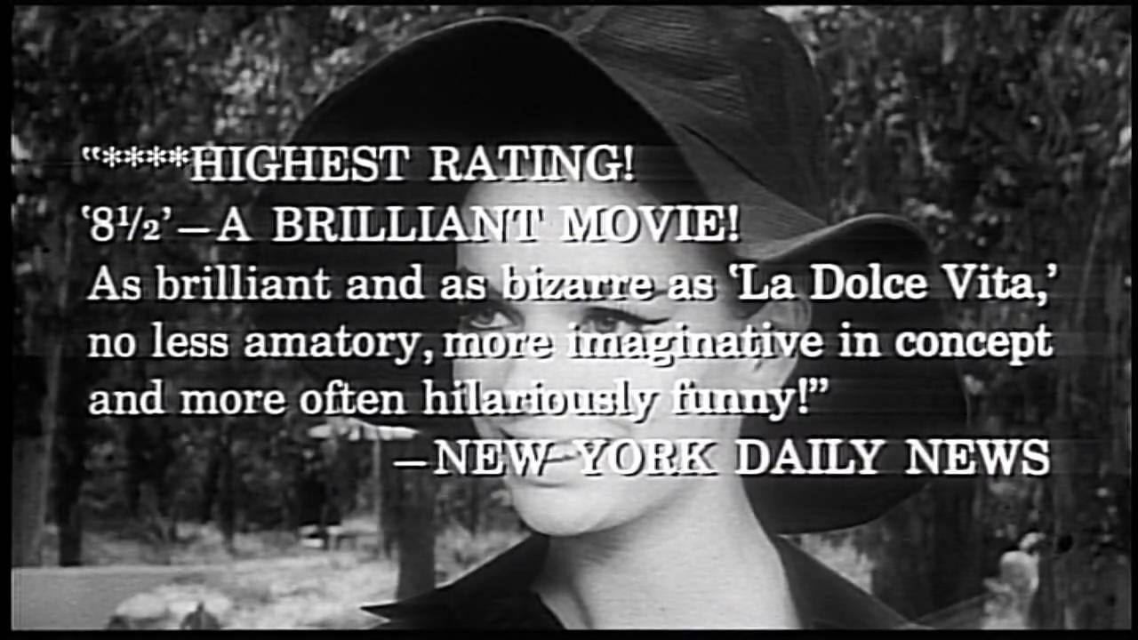 8 1/2 Trailer (1963) - The Criterion Collection