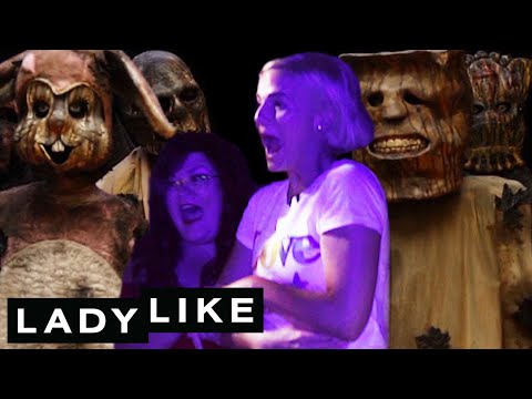 Chantel Pranks Ladylike At A Halloween Maze • Ladylike