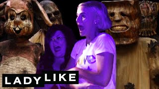 Download Chantel Pranks Ladylike At A Halloween Maze • Ladylike Mp3 and Videos