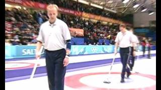 Men's Curling - Salt Lake 2002  Winter Olympic Games