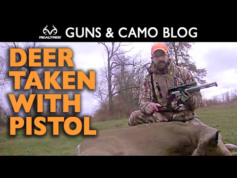 Late-Season Doe Hunt with the CVA Optima V2 Muzzleloading Pistol