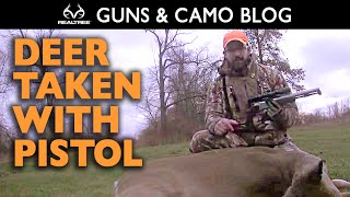Late-Season Doe Hunt with the CVA Optima V2 Muzzleloading Pistol