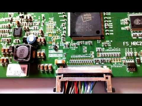 Sony Lcd Kdl 40s Pas D Image T Con Fs Hbc2lv2 4