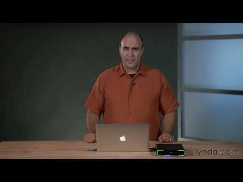 Keynote tutorial: Adding a music track to a slideshow  lyndacom