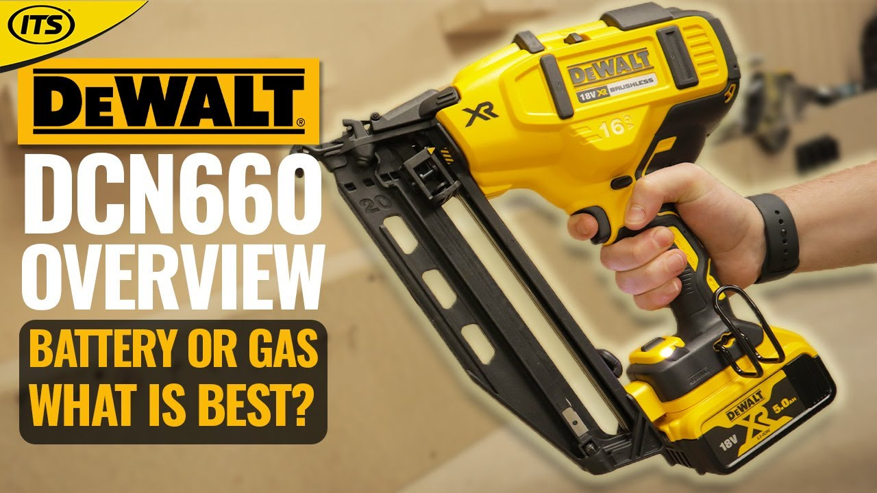Dewalt DCN660 18v Li-ion Brushless Finishing 2nd Fix Nailer - ITS ...