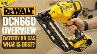 dewalt dcn660 18v li ion brushless finishing 2nd fix nailer its