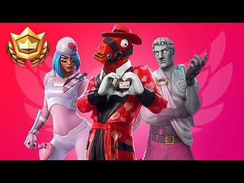 Fortnite Valentine's Day Tournament!! (Fortnite Battle Royale Gameplay)
