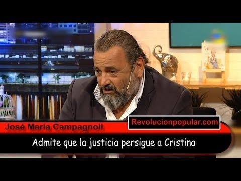 El fiscal Campagnoli 'reconoció' que la justicia PERSIGUE a Cristina Kirchner