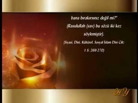 HZ. EBU BEKİR SIDDIK (RA) [571-634]