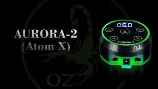 Tattoo Power Supply Aurora 2 Critical Atom X-copy. Tattoo Grip. Tattoo Pen MachineTray. Блок Питания