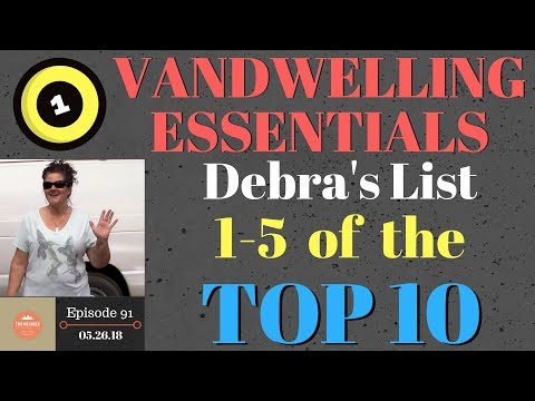 S1.E91-Top 10 Nomad Essentials 1-5: Electronics, Entertainment, Tools, Showers, Footwear