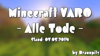 Minecraft VARO - ALLE TODE! Zusammenschnitt
