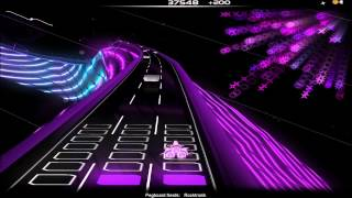 Audiosurf: Rocktronik - Pegboard Nerds, Ninja Mono