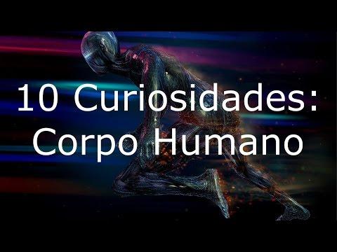 10 curiosidades sobre o corpo humano