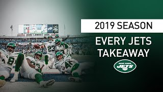 Every Takeaway By The Jets In 2019 | New York Jets | NFL