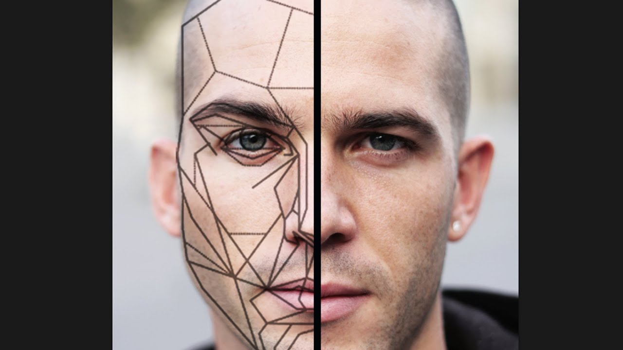 Unsymmetrical face FIXED with the GOLDEN RATIO MASK! - YouTube