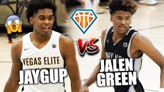 JOSH CHRISTOPHER vs JALEN GREEN!! | The BEST of the WEST COAST Go To War at Peach Jam