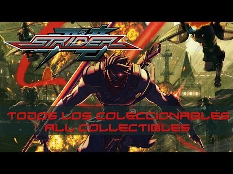Strider - Todos los Coleccionables / All Collectibles