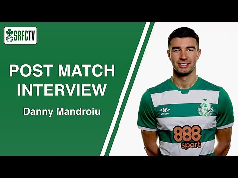 Danny Mandroiu | Post Match Interview v Drogheda United | 20 April 2021