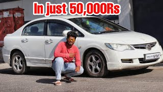 My New Car Honda Civic in just 50,000Rs!!!