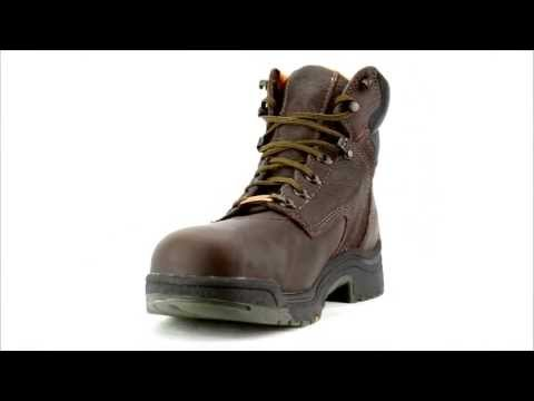 Men's Timberland 26078 Alloy Toe WP Work Boot @ Steel-Toe-Shoes