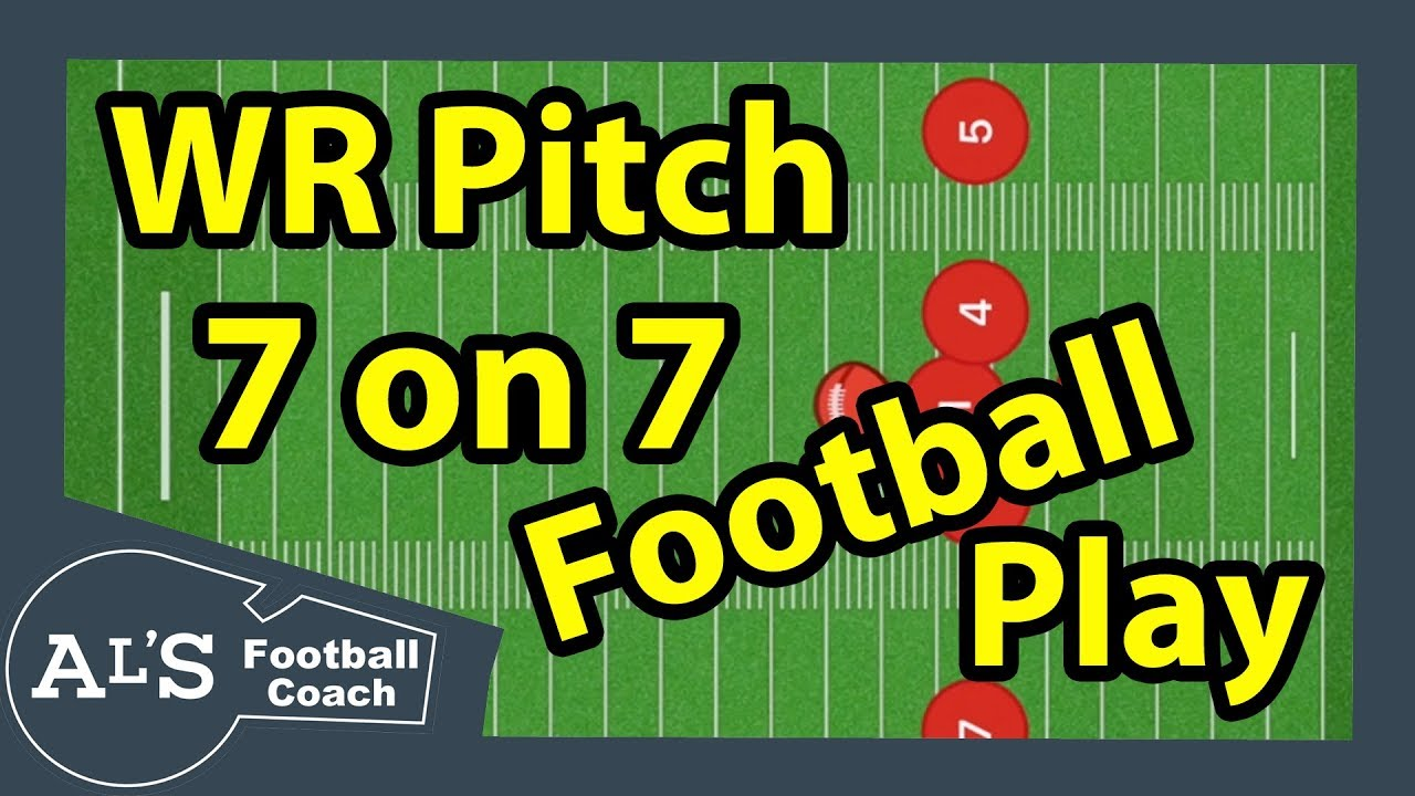Wide Receiver Pitch 7 On 7 Flag Football Play Hook And Ladder