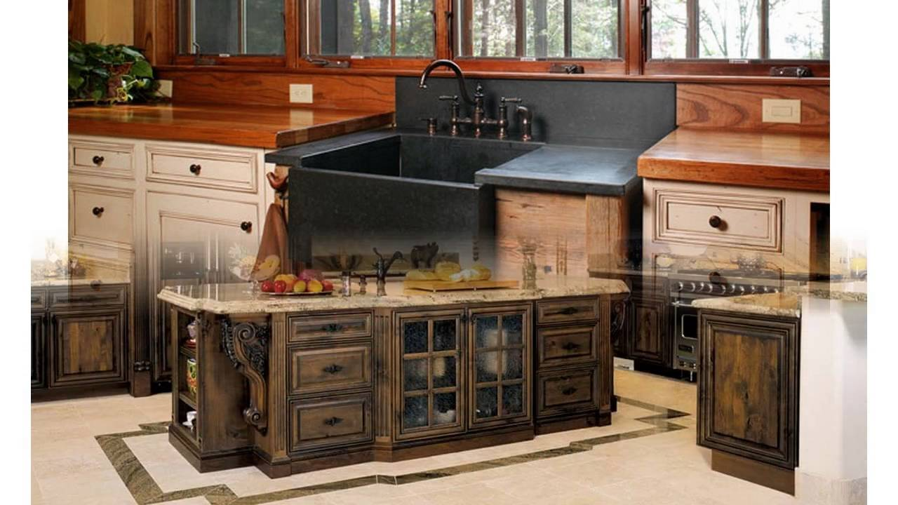Rustikaler Küchenschränke Ideen