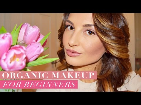 Organic Makeup Tutorial for Beginners!