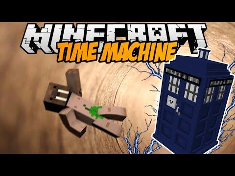 Minecraft mody! COFAJ SIĘ W CZASIE | TIME MACHINE MOD