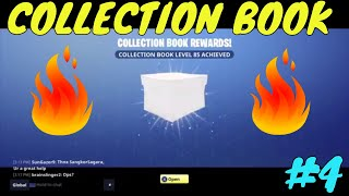 Fortnite - COLLECTION BOOK IS ALMOST AT LEVEL 100 | Fortnite Collection Book