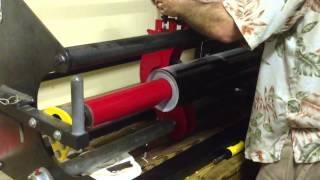 Vinyl Roll Slitting / Cutting