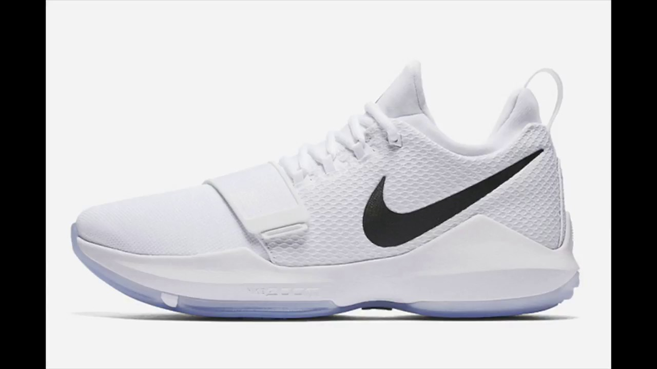 9cbc7bf48b7 Nike - PG 1 - White Ice - YouTube