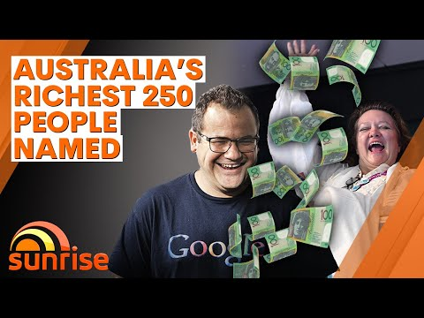 Australia's richest 250 people named   7NEWS