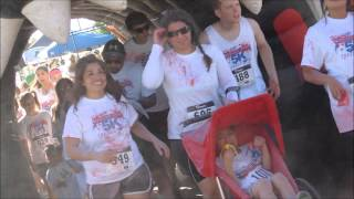 Color Fun 5k Freedom Run 2014 Plainview Texas