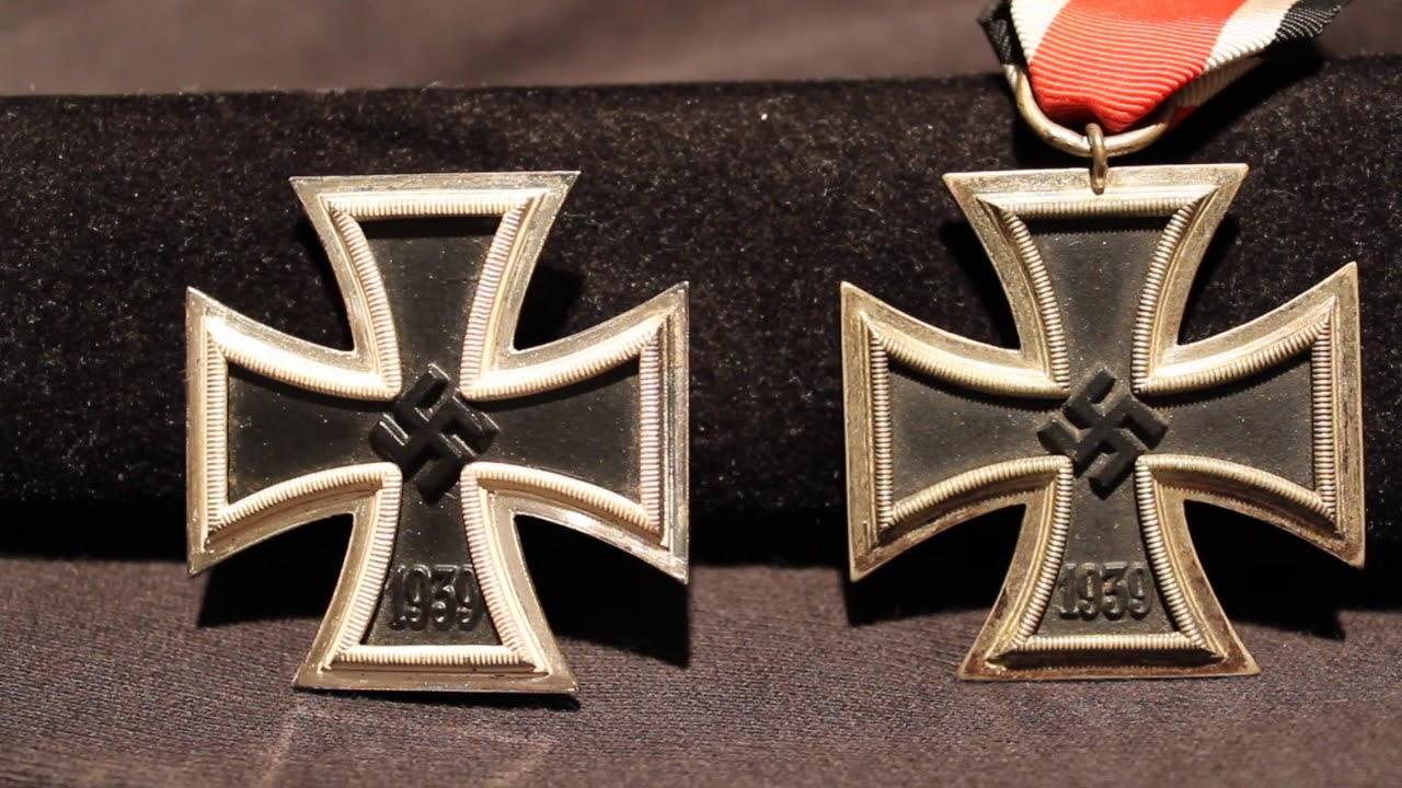 Nazi Iron Cross 1st 2nd Class Youtube