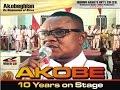 Akobe 10 Years Live on Stage Full Edo Music Video