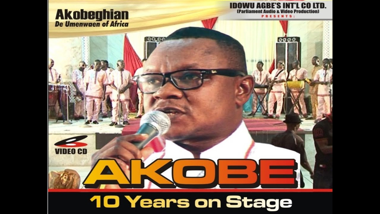 Download Akobe 10 Years Live on Stage Full Edo Music Video