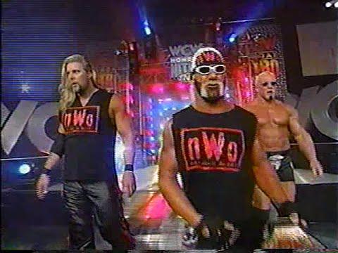 Hollywood Hogan, Kevin Nash, Scott Steiner (nWo Wolfpac Elite) entrance [Nitro - 25th Jan 1999]