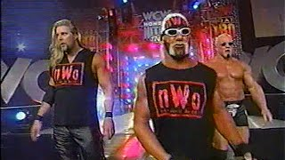Hollywood Hogan, Kevin Nash, Scott Steiner (nWo Wolfpac Elite) entrance [Nitro - 25th Jan 1999]