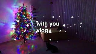 (vlog)크리스마스를 기다리며 각종 언박싱(feat.…