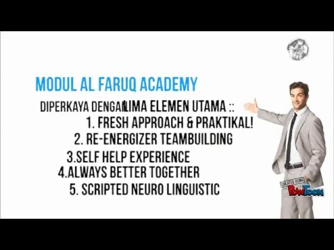 Alfaruq Al Faruq Academy Corporate Video Youtube