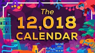 The Year 12,018 Calendar IS OUT NOW – A new calendar for humanity thumbnail