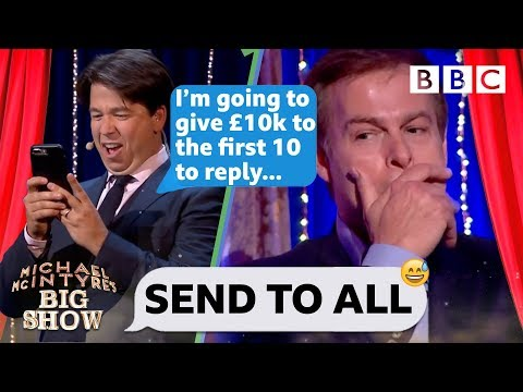 Send To All with Peter Jones - Michael McIntyre's Big Show: Episode 3 - BBC One