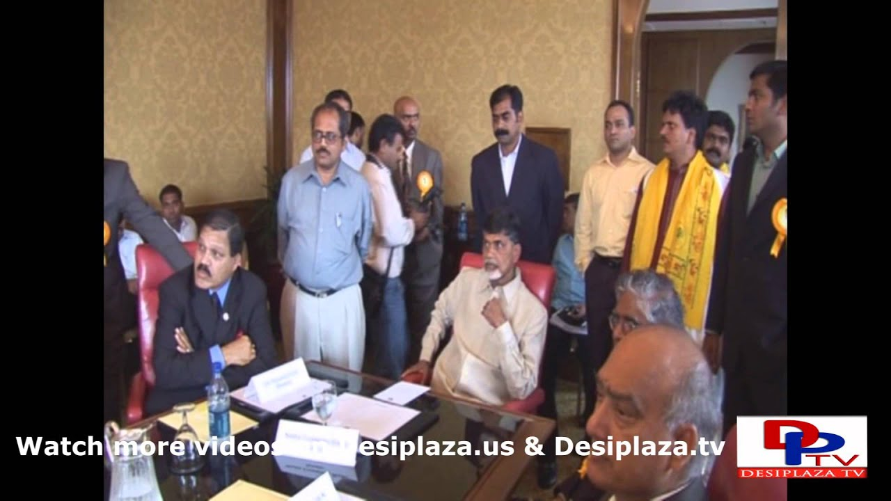 Part 3. Mr.Chandrababu Naidu's visit to Dallas in the year 2007.