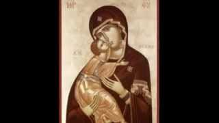 O Virgin Pure - English Orthodox Byzantine Chant(Part 2)