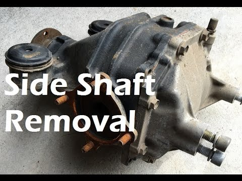 HOW TO: Remove Diff Side Shafts / Half Shafts