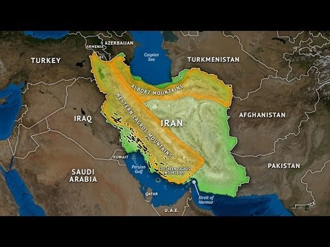 Iran's Geographic Challenge