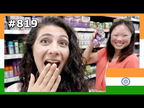 OMG! YOU WON'T BELIEVE SHE BOUGHT 12 BOTTLES OF THIS INDIAN FOOD DAY 819 | TRAVEL VLOG IV